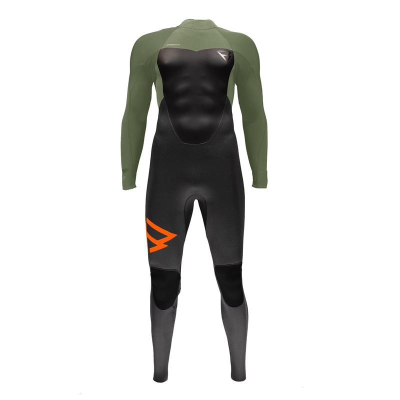 Brunotti Defence 5/4 BZ Men Wetsuit (Groen) - HEREN WETSUITS - Brunotti online shop
