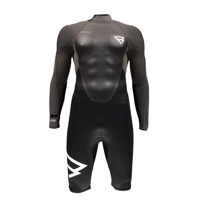Brunotti Defence 3/2 Men Longarm Shorty  (grey) - men wetsuits - Brunotti online shop