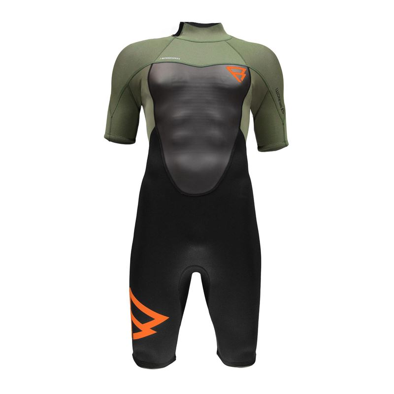 Brunotti Defence 3/2 Men Shorty (Groen) - HEREN WETSUITS - Brunotti online shop