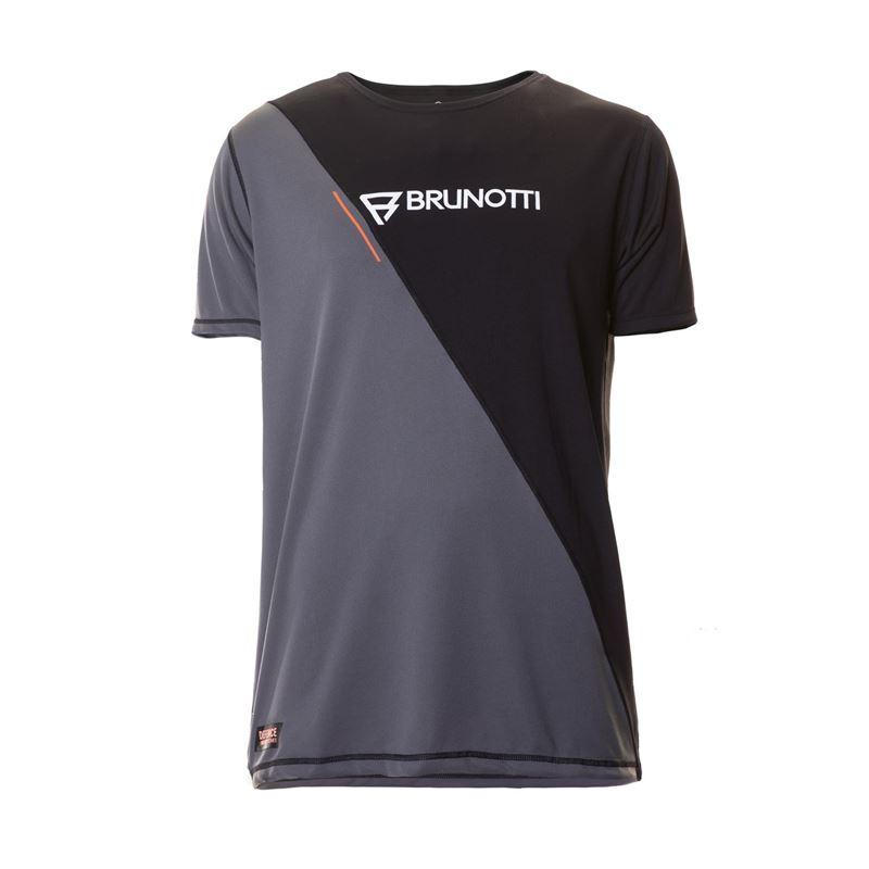 Brunotti Defence Quick Dry S/S Men Technical Shirt (Schwarz) - HERREN TECHNICAL TOPS - Brunotti online shop