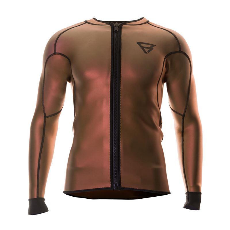 Brunotti Bravo Neo L/S Jacket Dorian Men TECHNICAL SHIRT (rot) - herren technical tops - Brunotti online shop