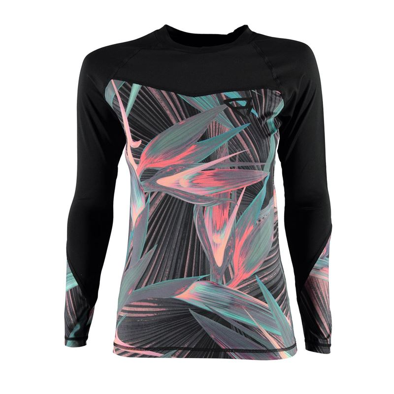 Brunotti Nightbird Rashguard L/S Women  (rosa) - damen technical tops - Brunotti online shop
