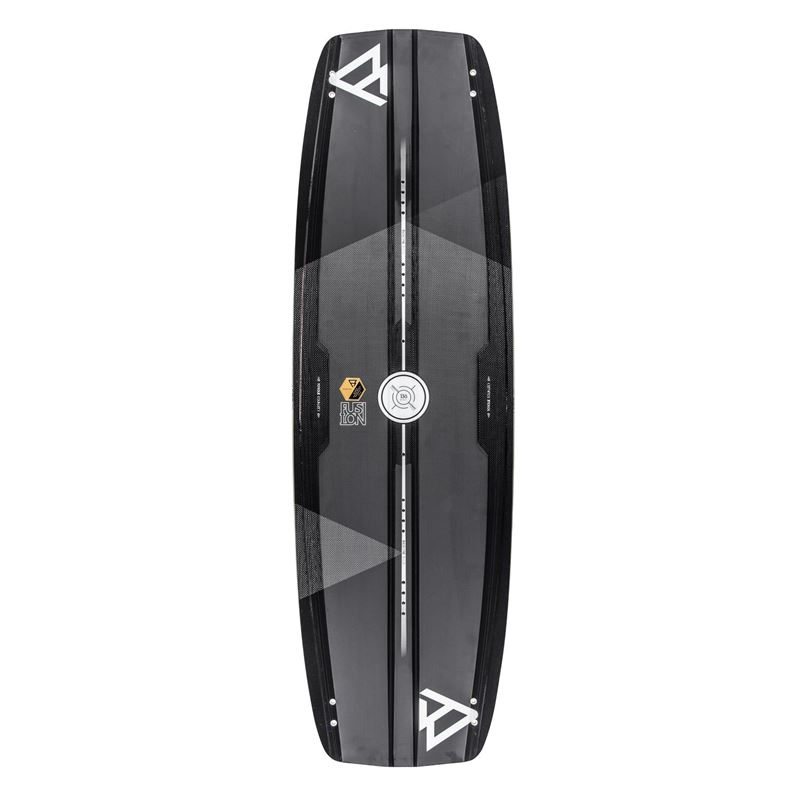 Brunotti Fusion - carbon compression twintip (black) - boards twintips - Brunotti online shop