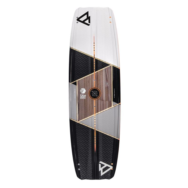 Brunotti Dimension - wood-core twintip (grey) - boards twintips - Brunotti online shop
