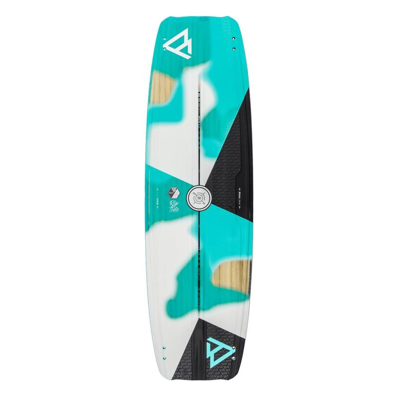 Brunotti Riptide Women | wood-core twintip (zwart) - boards twintips - Brunotti online shop