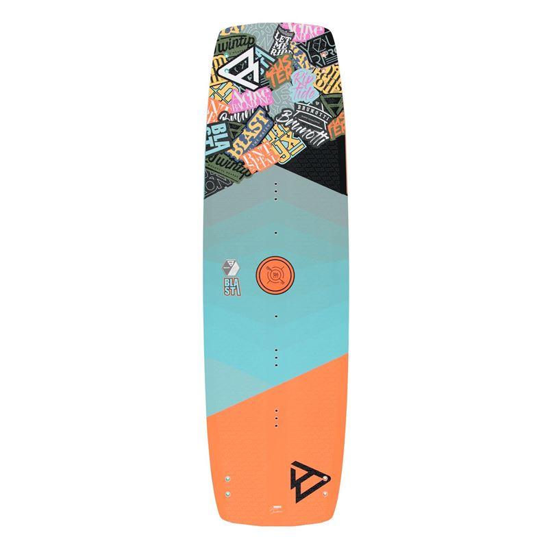 Brunotti Blast - Junior | Wood-core twintip (oranje) - boards twintips - Brunotti online shop
