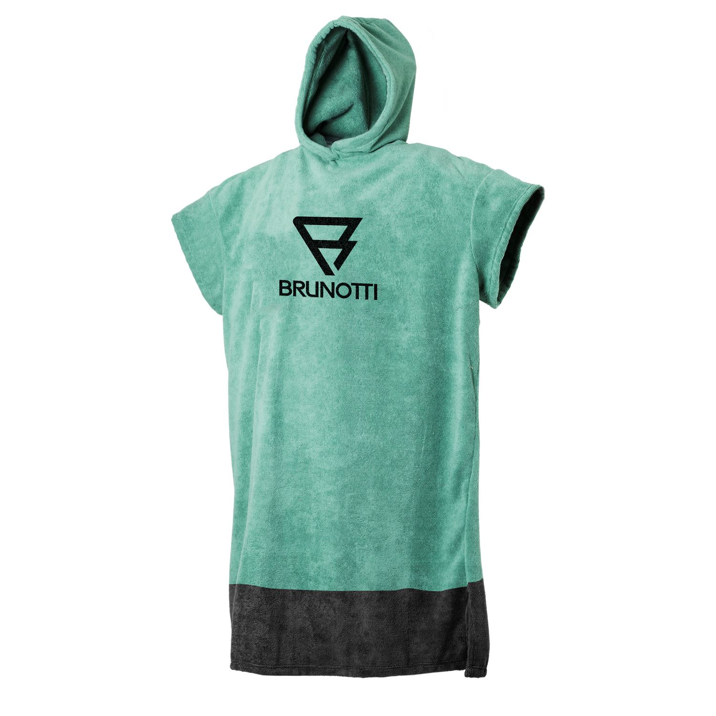 Brunotti Poncho  (groen) - heren poncho's - Brunotti online shop