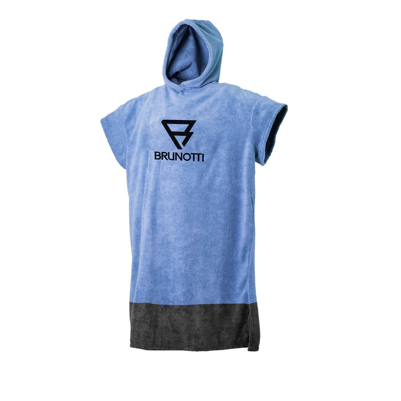 Brunotti Poncho  (blauw) - jongens poncho's - Brunotti online shop