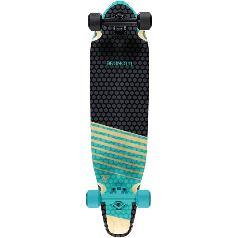 Brunotti Ben Longboard (Blue) - BOARDS LONGBOARDS - Brunotti online shop