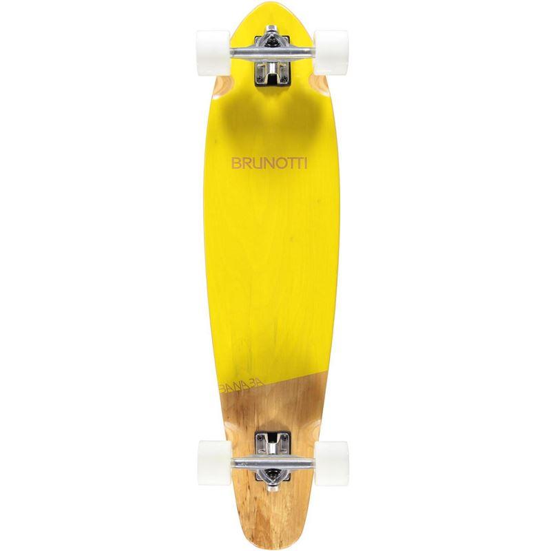 Brunotti Banaba Longboard (Geel) - BOARDS LONGBOARDS - Brunotti online shop