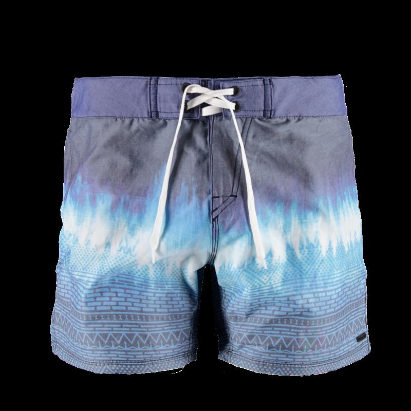 Brunotti Ciacallo Men Boardshort (Blauw) - HEREN BOARDSHORTS - Brunotti online shop