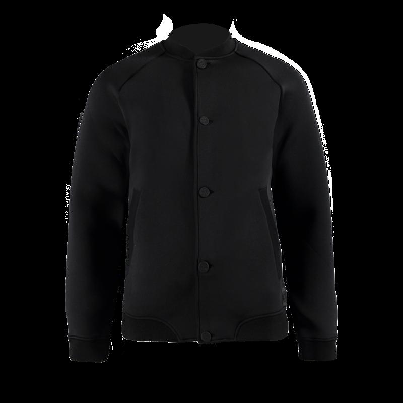 Brunotti Tabri Men Fleece (Zwart) - HEREN FLEECES - Brunotti online shop