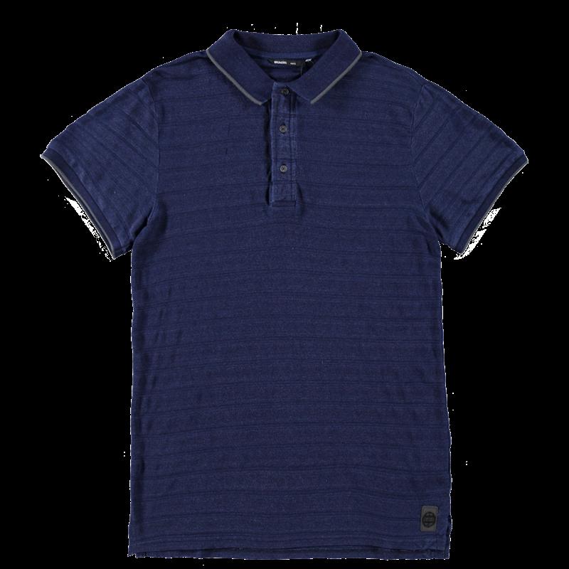 Brunotti Faci Men Polo (Blauw) - HEREN T-SHIRTS & POLO'S - Brunotti online shop
