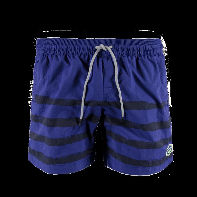 Brunotti Cepardo Men Short (Blauw) - HEREN ZWEMSHORTS - Brunotti online shop