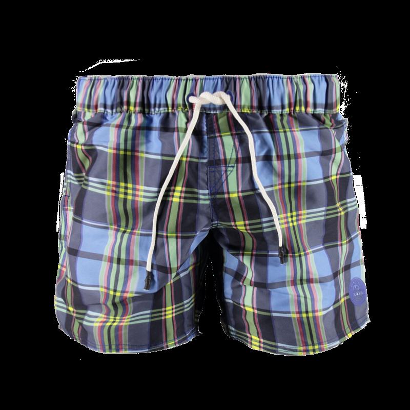 Brunotti Ceonore Men Short (Blauw) - HEREN ZWEMSHORTS - Brunotti online shop