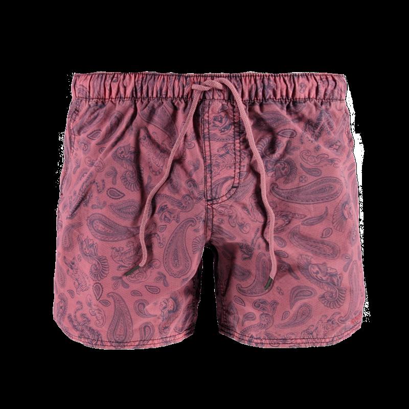 Brunotti Calvino Men Short (Rood) - HEREN ZWEMSHORTS - Brunotti online shop