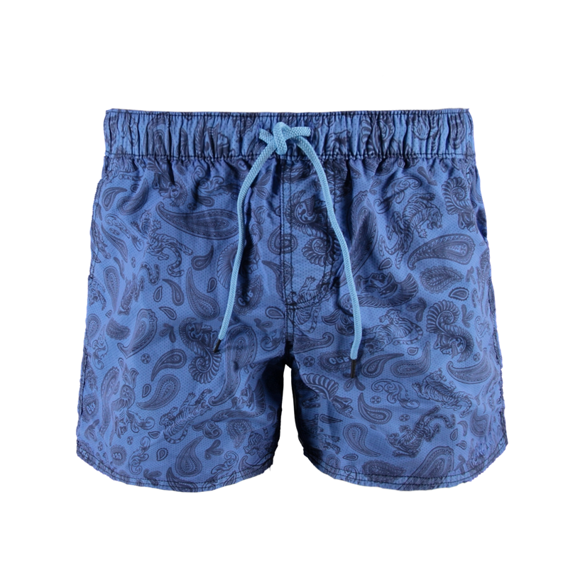 Brunotti Calvino Men Short (Blauw) - HEREN ZWEMSHORTS - Brunotti online shop