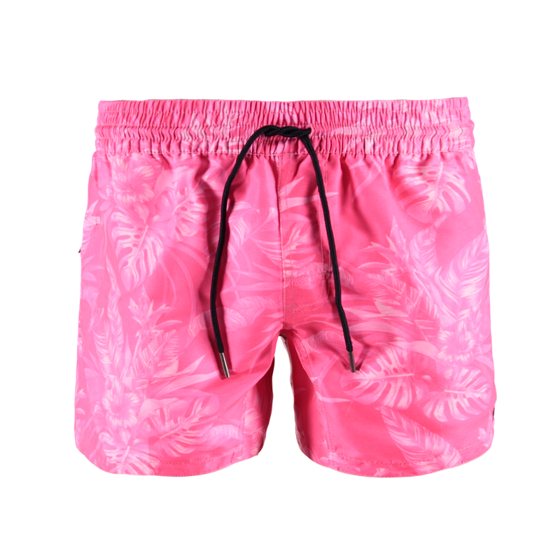 Brunotti Crunot Allover Men Short (Roze) - HEREN ZWEMSHORTS - Brunotti online shop