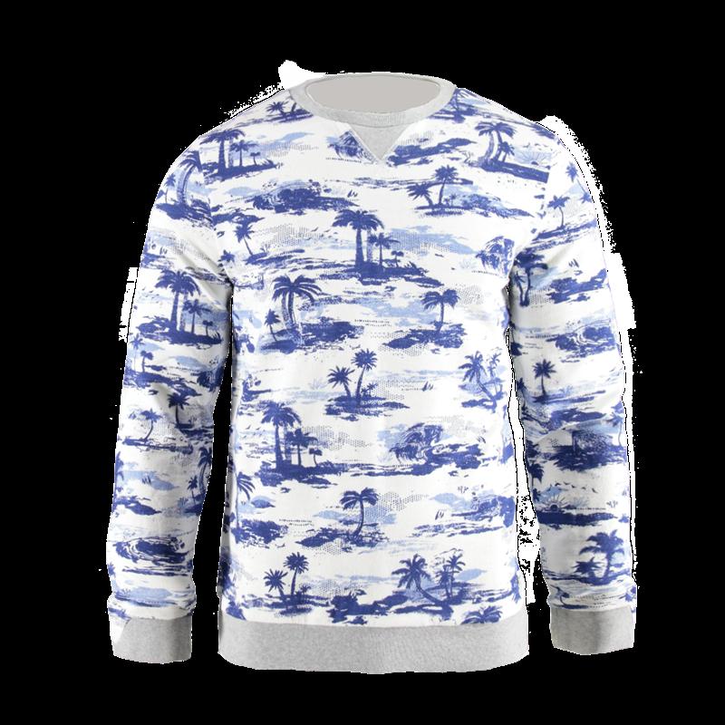 Brunotti Norm Men Sweat (White) - MEN JUMPERS & CARDIGANS - Brunotti online shop