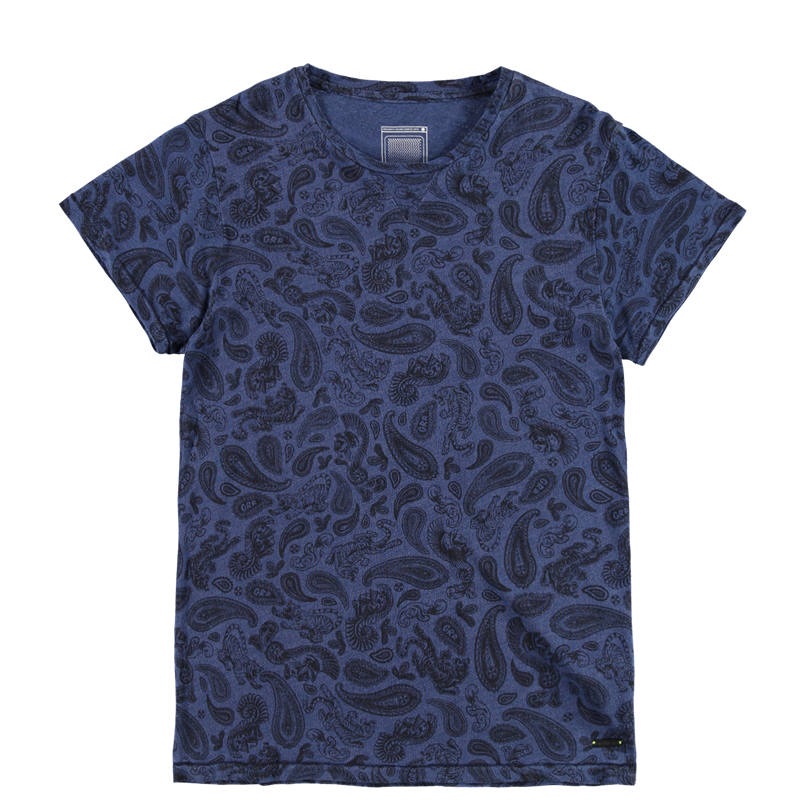 Brunotti Amicini Men T-shirt (Blue) - MEN T-SHIRTS & POLOS - Brunotti online shop