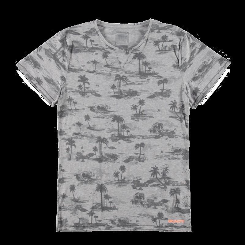 Brunotti Arduino Men T-shirt (Grey) - MEN T-SHIRTS & POLOS - Brunotti online shop