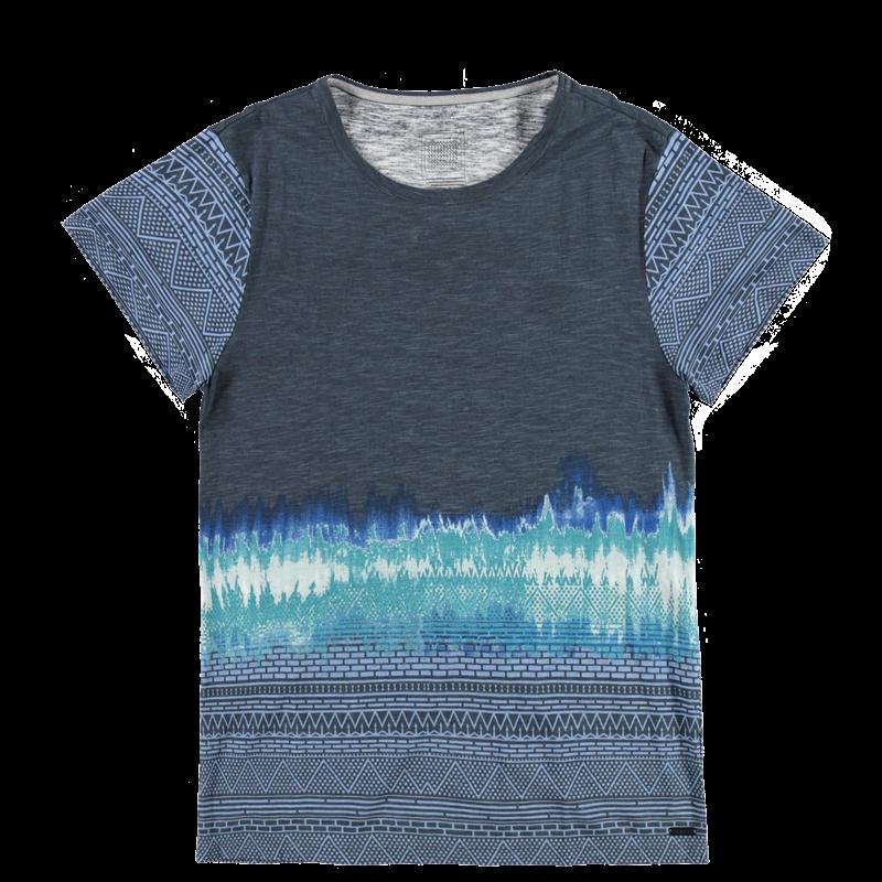Brunotti Avogardo Men T-shirt (Blauw) - HEREN T-SHIRTS & POLO'S - Brunotti online shop