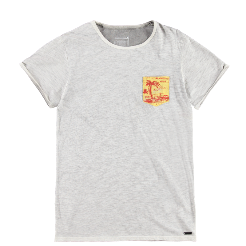 Brunotti Ancona Men T-shirt (Wit) - HEREN T-SHIRTS & POLO'S - Brunotti online shop