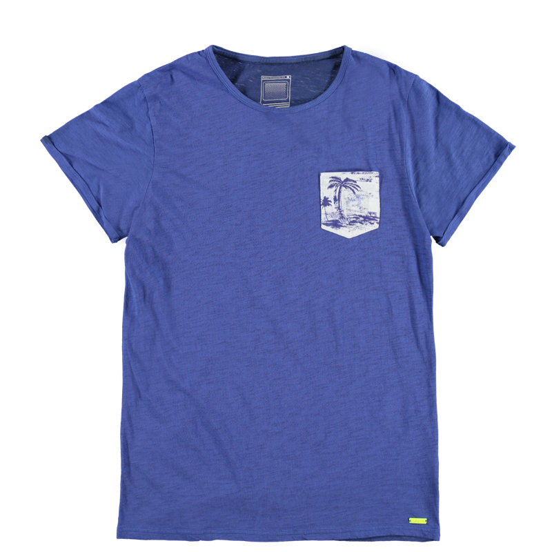 Brunotti Ancona Men T-shirt (Blue) - MEN T-SHIRTS & POLOS - Brunotti online shop