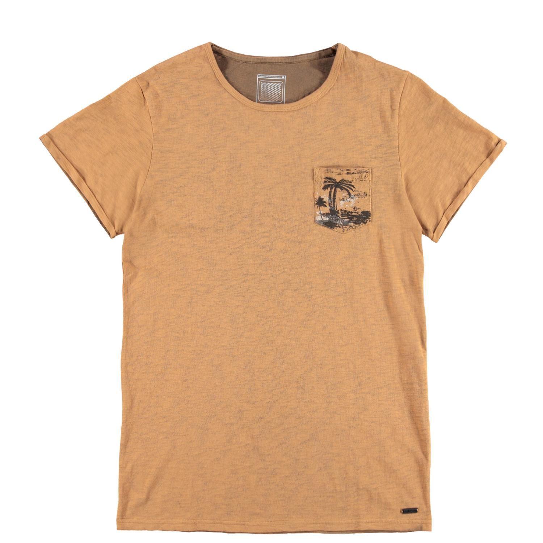 Brunotti ancona men t shirt braun herren t shirts for Online shopping men t shirt