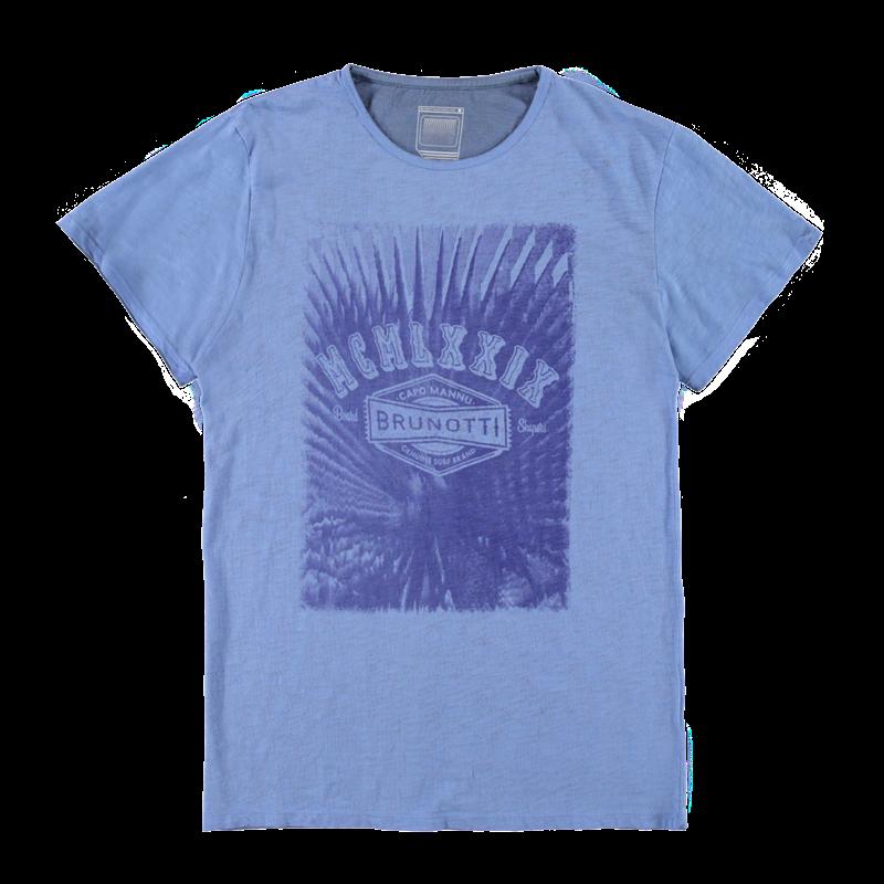 Brunotti Abetti Men T-shirt (Blauw) - HEREN T-SHIRTS & POLO'S - Brunotti online shop