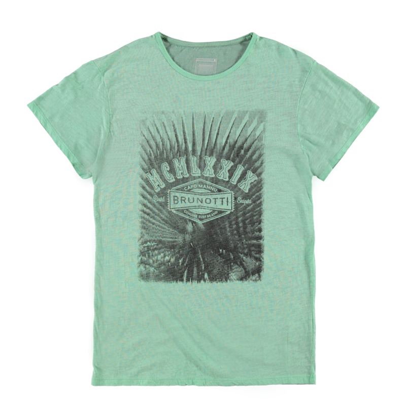Brunotti Abetti Men T-shirt (Groen) - HEREN T-SHIRTS & POLO'S - Brunotti online shop