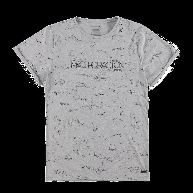 Brunotti Arcalli Men T-shirt (Grey) - MEN T-SHIRTS & POLOS - Brunotti online shop