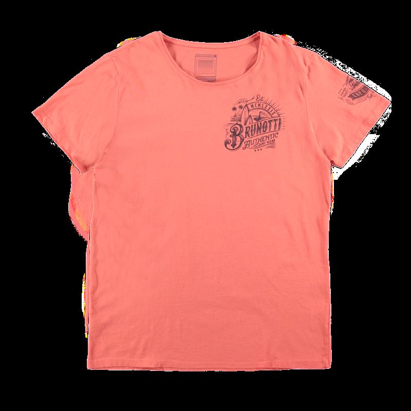 Brunotti Allioni Men T-shirt (Rood) - HEREN T-SHIRTS & POLO'S - Brunotti online shop