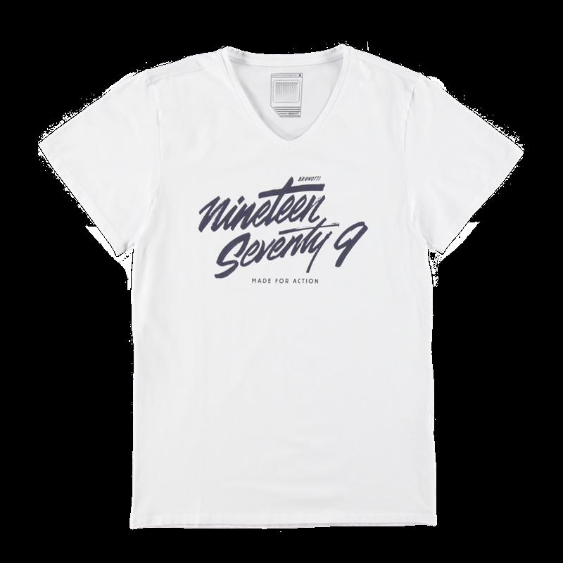 Brunotti Amaroso Men T-shirt (Wit) - HEREN T-SHIRTS & POLO'S - Brunotti online shop