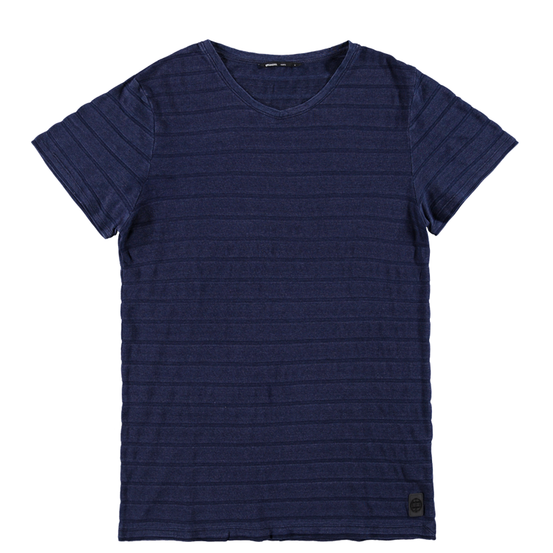 Brunotti Annoni Men T-shirt (Blauw) - HEREN T-SHIRTS & POLO'S - Brunotti online shop