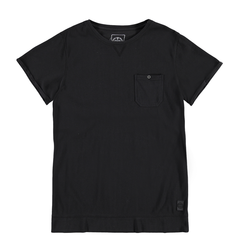 Brunotti Alava Men T-shirt (Zwart) - HEREN T-SHIRTS & POLO'S - Brunotti online shop