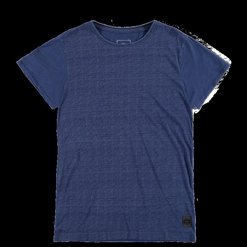 Brunotti Ambrossini Men T-shirt (Blauw) - HEREN T-SHIRTS & POLO'S - Brunotti online shop