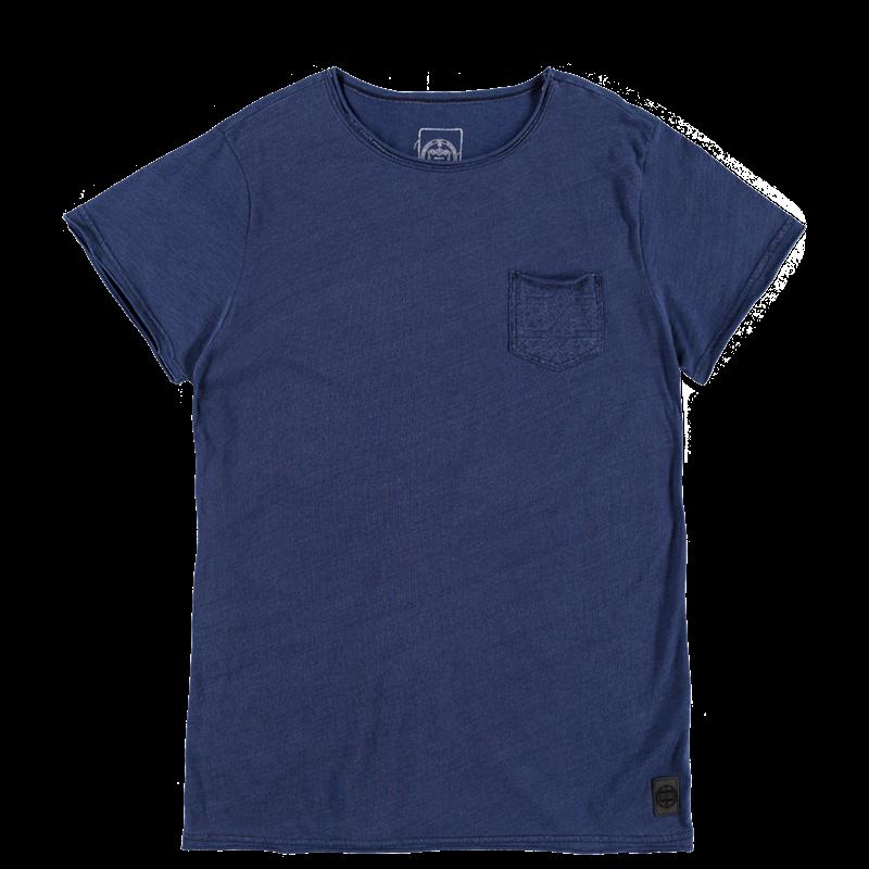 Brunotti Ariaudo Men T-shirt (Blauw) - HEREN T-SHIRTS & POLO'S - Brunotti online shop