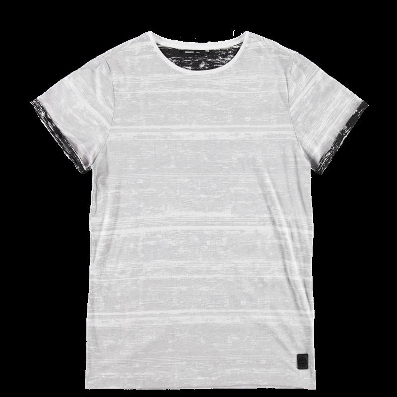 Brunotti Abate Men T-shirt (Wit) - HEREN T-SHIRTS & POLO'S - Brunotti online shop