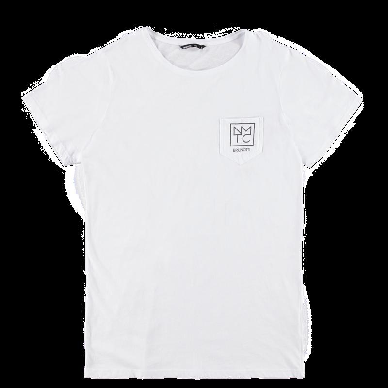 Brunotti Ariatti Men T-shirt (Wit) - HEREN T-SHIRTS & POLO'S - Brunotti online shop