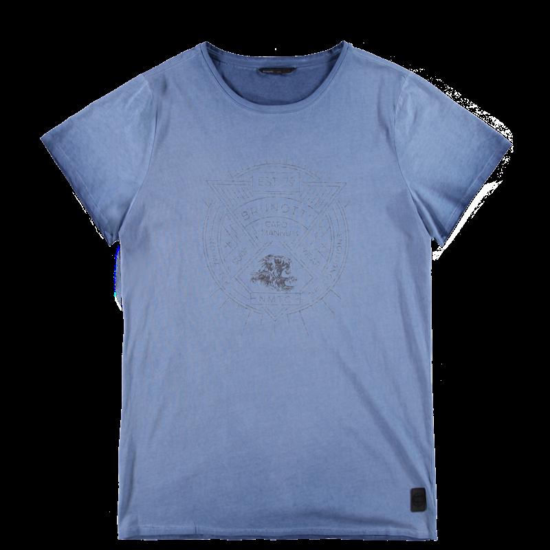 Brunotti Anemisi Men T-shirt (Blauw) - HEREN T-SHIRTS & POLO'S - Brunotti online shop