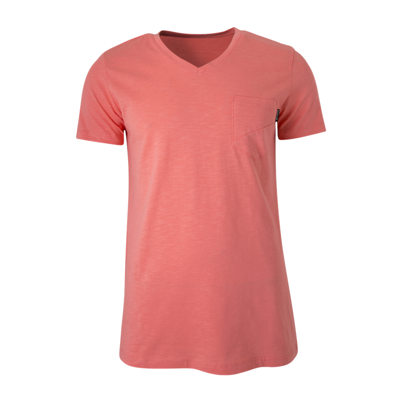 Brunotti Adrano N Men T-shirt (Roze) - HEREN T-SHIRTS & POLO'S - Brunotti online shop