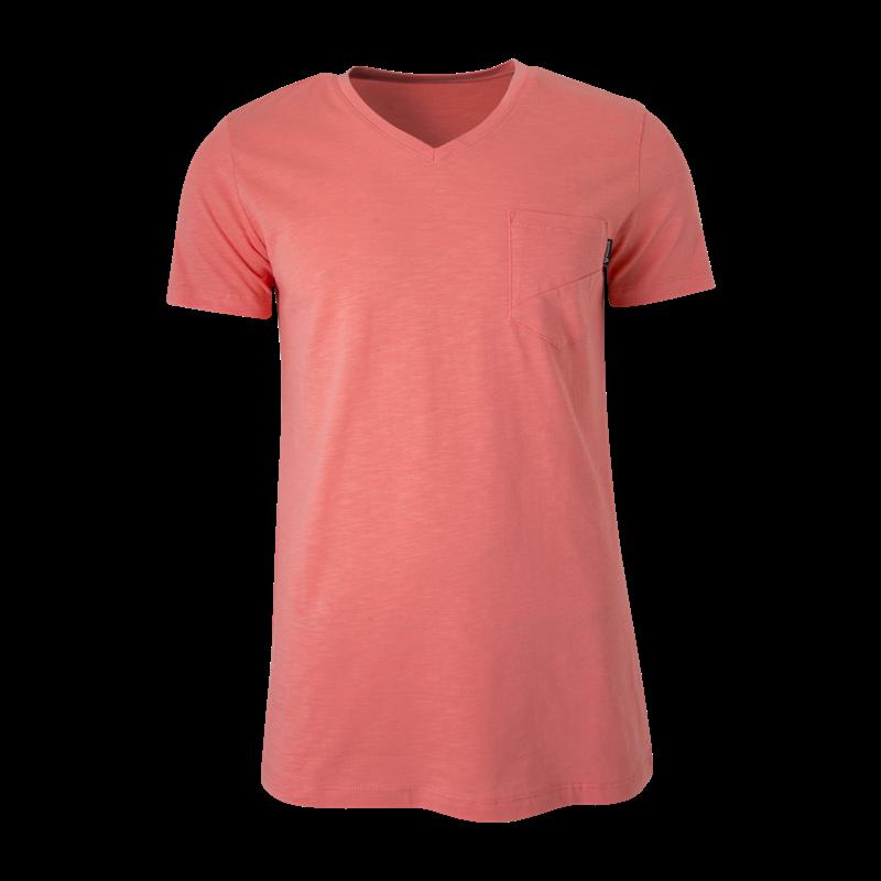 Brunotti Adrano N Men T-shirt (Pink) - MEN T-SHIRTS & POLOS - Brunotti online shop