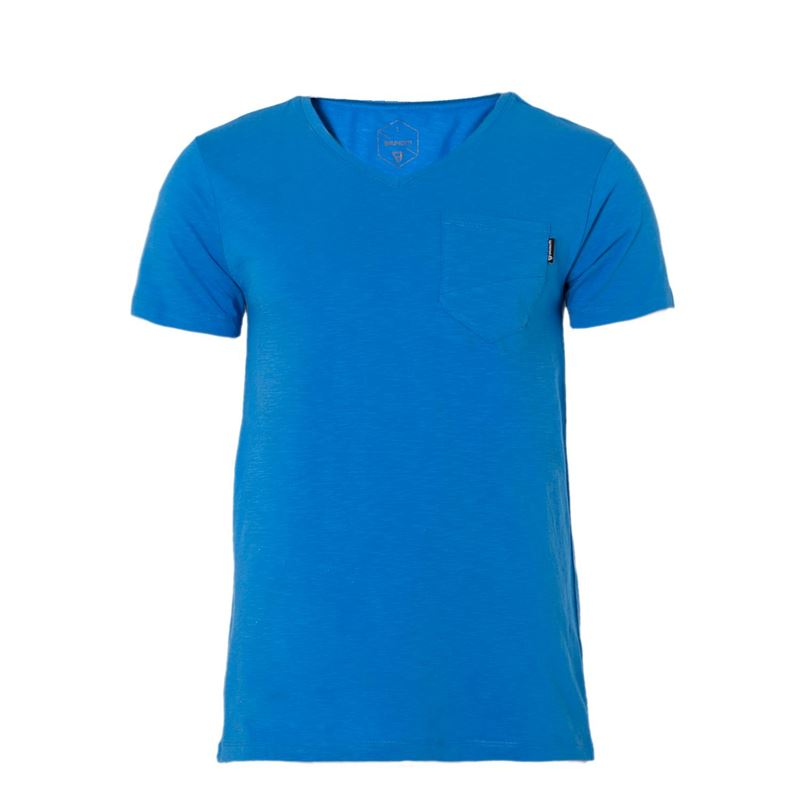 Brunotti Adrano  (blauw) - heren t-shirts & polo's - Brunotti online shop