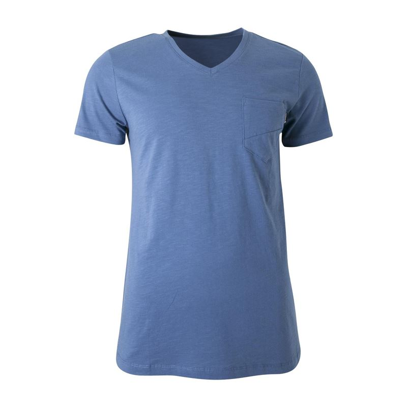 Brunotti Adrano  (blue) - men t-shirts & polos - Brunotti online shop