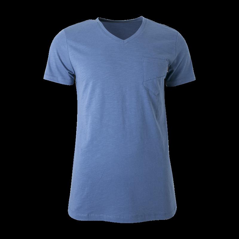 Brunotti Adrano N Men T-shirt (Blauw) - HEREN T-SHIRTS & POLO'S - Brunotti online shop