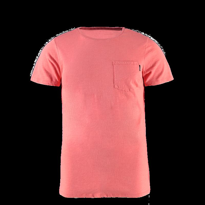 Brunotti Alonte N Men T-shirt (Roze) - HEREN T-SHIRTS & POLO'S - Brunotti online shop