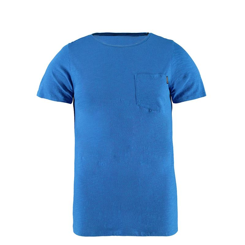 Brunotti Alonte  (blauw) - heren t-shirts & polo's - Brunotti online shop