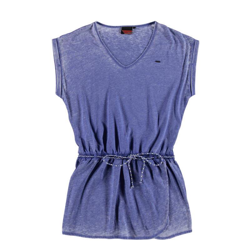 Brunotti Iomodoro Women Dress (Blauw) - DAMES JURKEN & ROKKEN - Brunotti online shop