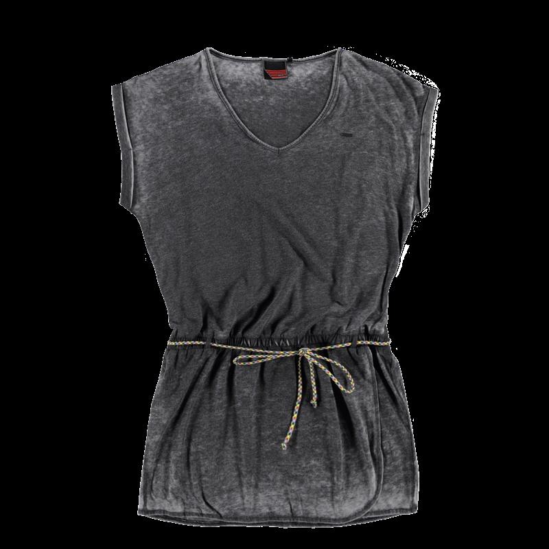 Brunotti Iomodoro Women Dress (Zwart) - DAMES JURKEN & ROKKEN - Brunotti online shop